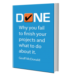 Done book by Geoff McDonald